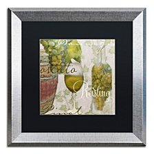 Color Bakery 'Wine Cellar Ii' Matted Framed Art