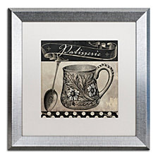 Color Bakery 'Bistro Parisienne Iii' Matted Framed Art