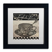"Color Bakery 'Bistro Parisienne Iv' Matted Framed Art, 11"" x 11"""