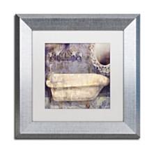 "Color Bakery 'Le Bain Paris Ii' Matted Framed Art, 11"" x 11"""