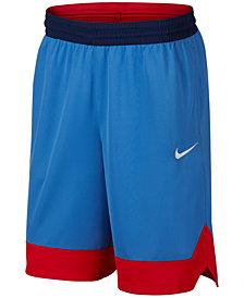 Nike Men's Dri-FIT Colorblocked Basketball Shorts