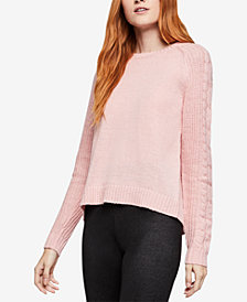 BCBGeneration Notched-Back Sweater