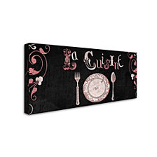 Color Bakery 'French Sign I' Canvas Art
