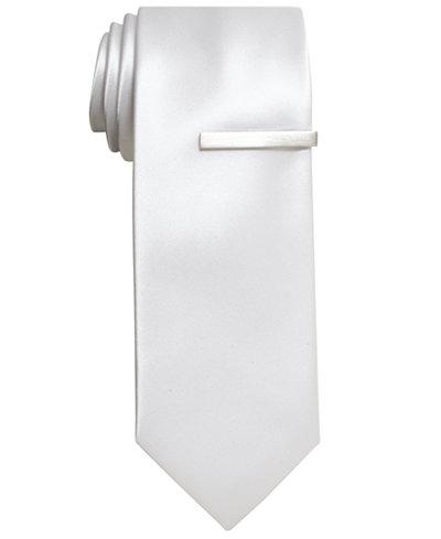 Alfani Solid Skinny Tie