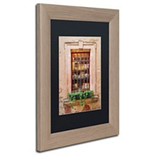 "Michael Blanchette Photography 'Window Shopping' Matted Framed Art, 11"" x 14"""