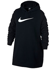Nike Plus Size Sportswear Logo Hoodie Dress