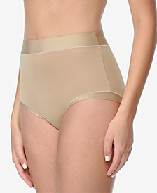 Women's Plus Size Easy Does It Stretch Brief Underwear RS9301P