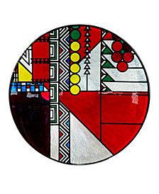 """Frank Lloyd Wright May Basket Circle Plate, 14.5"""" x 2.5"""""""