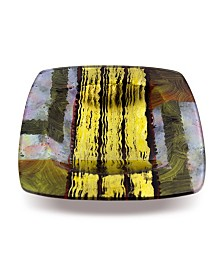"""16"""" Square Platter with Glass Legs"""