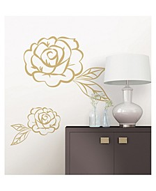 Stay Rose Wall Art Kit