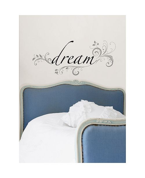 Brewster Home Fashions Dream Wall Quote