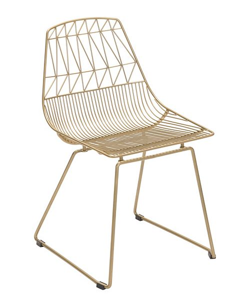Zuo Brody Dining Chair Gold (Set of 2)