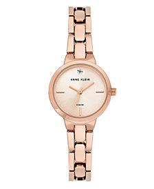 Anne Klein Sunray Dial with A Genuine Diamond Watch