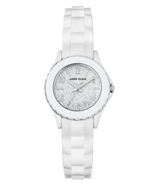 Anne Klein Glitter Dial with Arabic Numerals Watch