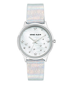 Genuine Mother of Pearl Dial with A Swarovski Crystal