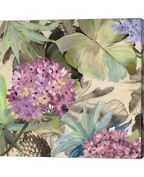 Metaverse Pink Hydrangeas by Eve C. Grant
