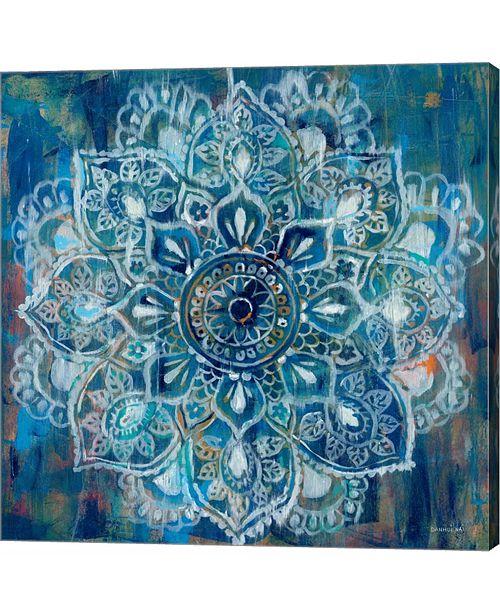 Metaverse Mandala in Blue by Danhui Nai