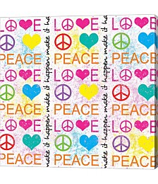 Peace Love 1 by Louise Carey
