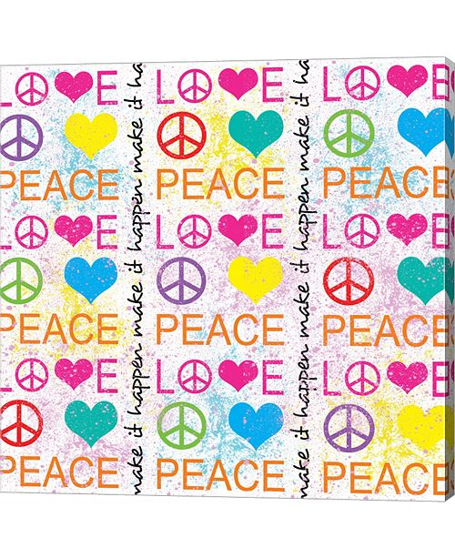 Metaverse Peace Love 1 by Louise Carey