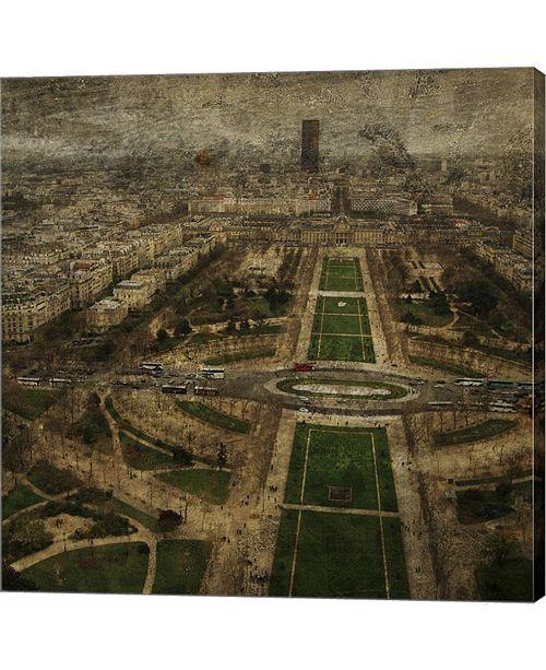 Metaverse Paris Skyline V by John W. Golden