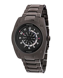 Automatic Daniels Black Stainless Steel Watches 43mm