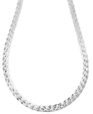 6 Favorable Designs of 925 Sterling Silver Necklaces