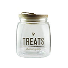 American Atelier Glass Treat Jar 1