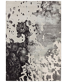 "Surya Aberdine ABE-8016 Medium Gray 7'10"" x 10'6"" Area Rug"