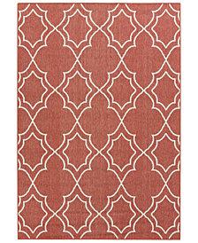 "Surya Alfresco ALF-9591 Rust 2'3"" x 4'6"" Area Rug"