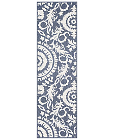 "Surya Alfresco ALF-9658 Charcoal 2'3"" x 11'9"" Runner Area Rug"