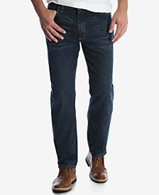 Men's Regular Fit Tapered Leg Jeans
