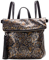 Patricia Nash Tricolor Metallic Luzille Convertible Backpack 3d474211bd91a