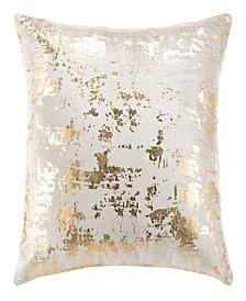 """Edmee Metallic 20"""" x 20"""" Pillow"""