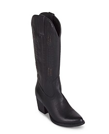 Wanted Texan Western Tall Boot