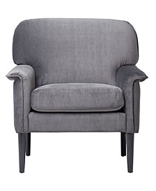 Mansard Arm Chair - Charcoal