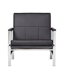 Atlas Chair Bonded Leather - Black