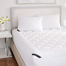 Royalty 233 Thread Count Cotton Top Allergen Barrier Mattress Pad Collection