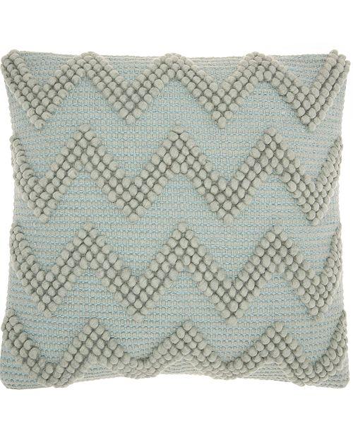 Nourison Mina Victory Life Styles Large Chevron Decorative Pillow