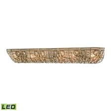 Elizabethan 6 Light Vanity in Dark Bronze