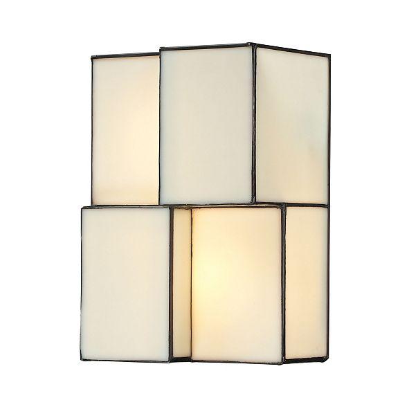 ELK Lighting Cubist Collection 2 light sconce in Brushed Nickel