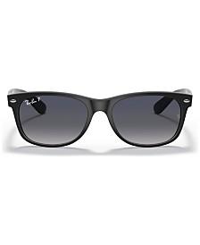 Ray-Ban Polarized Sunglasses, RB2132 NEW WAYFARER