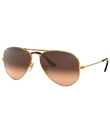 Ray-Ban Sunglasses, RB3025 AVIATOR GRADIENT