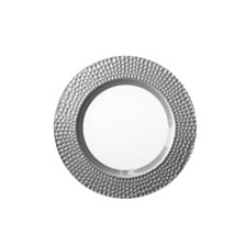 Jay Import Daphne Silver Charger Plate