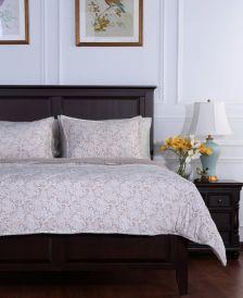 Blanket® Floral Lace Plush Full/Queen Comforter Set