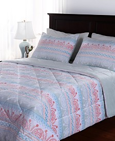 Berkshire Blanket & Home Co.® Moroccan Stencil Suedemink™ Full/Queen Comforter & Sham Set