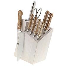 Zwilling J.A. Henckels Pro Holm Oak 10-Pc. Cutlery Set