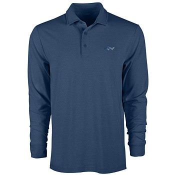 Attack Life by Greg Norman Men's Long-Sleeve Polo