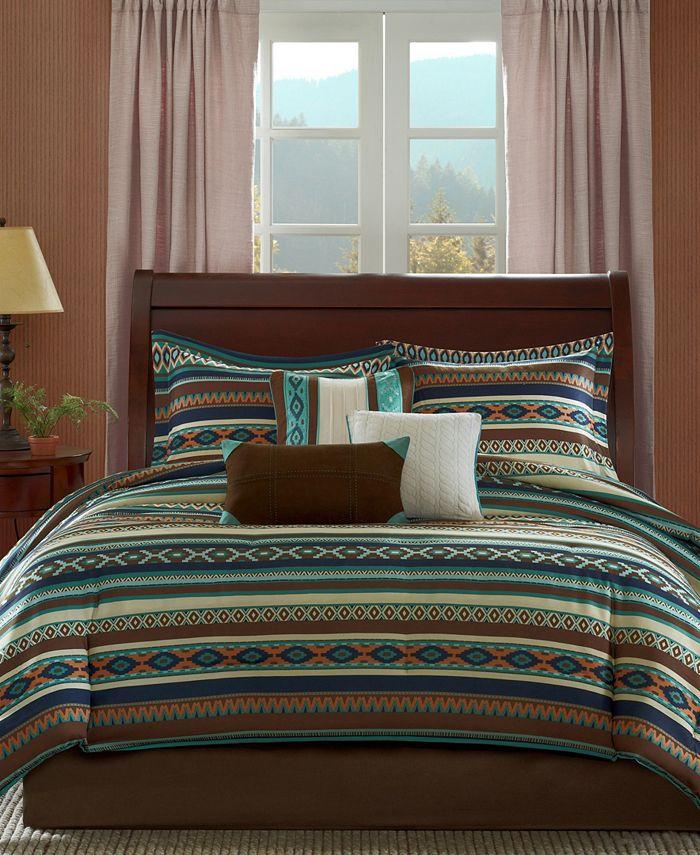 Madison Park - Malone 7-Pc Queen Comforter Set
