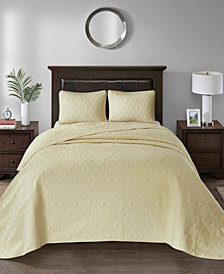 Madison Park Quebec 3-Pc. Queen Bedspread Set