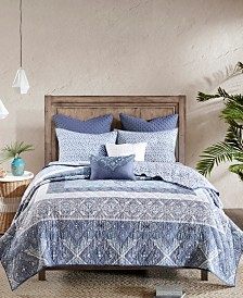 Urban Habitat Maggie 7-Pc. Full/Queen Reversible Cotton Coverlet Set